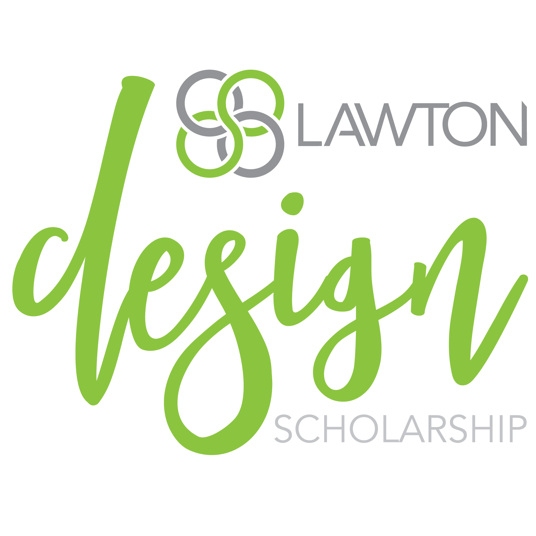 Lawton Design Scholarship Logo